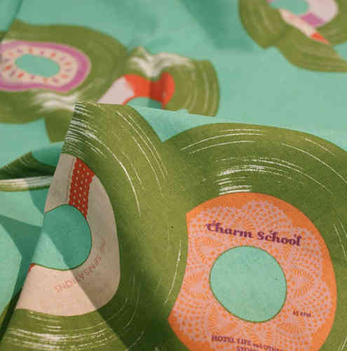 Melody Miller record - turquoise