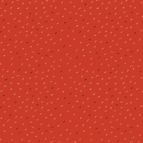 Sparkle Tangerine by Atelier Brunette - Red - Cotton