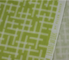 Ellen Baker - Broken Plaid in chartreuse - double gauze