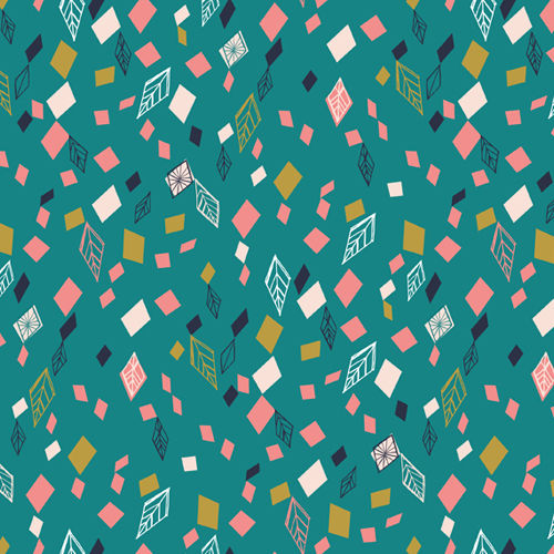 Falling leaves - Boho Meadow by Bethan Janine for Dashwood Studio