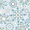 Ice kaleidoscope - Cotton fabric
