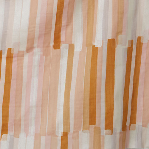 Grace - Beige stripes - Cotton double gauze