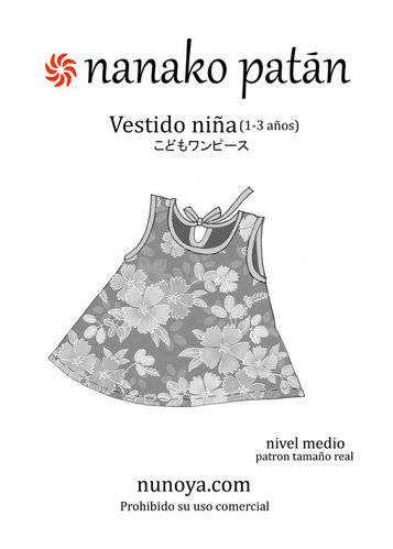 Nanako Patán - Little Girl's Dress