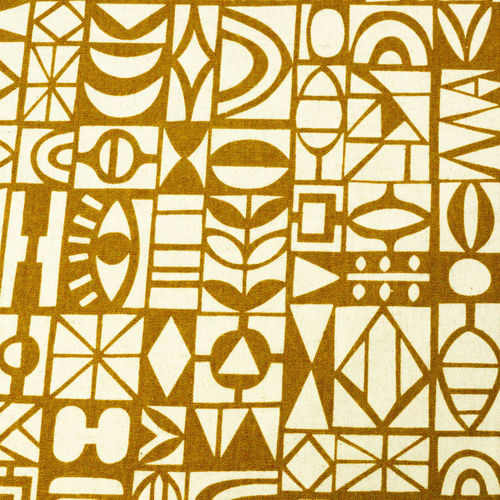 Papercut  in brown - Paper collection - Cotton & linen